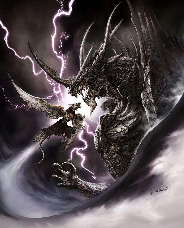 Картинки по запросу изображение дракона бахамута