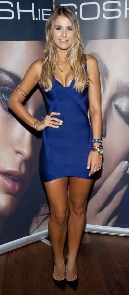 Vogue Williams at GOSH event wearing Cocoa Brown Spray Tan