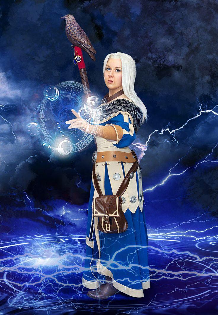 fem Khadgar cosplay world of warcraft