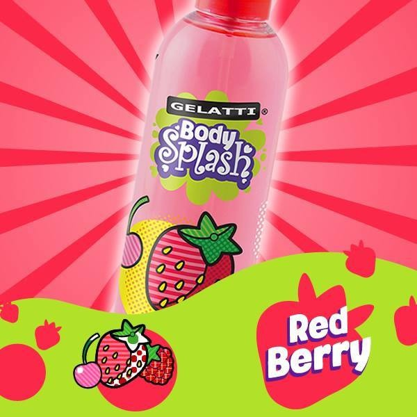 Gelatti Body Splash Red Berry