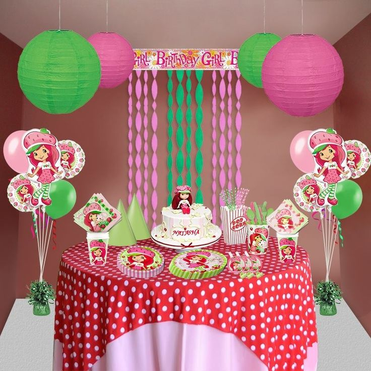 Ms. Strawberry Shortcake is here to add a flavor in your lil' girl's birthday party.  #StrawberryShortcakePartySupplies ‬  #StrawberryShortcakeParty‬  #GirlBirthdaySupplies‬