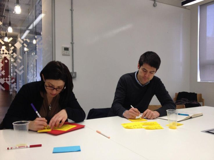 Holvi's Build a Bank   London 2013 - Build A Bank participants writing down problems they've had with banking & money management. #Holvi #FinTech #FutureOfBanking