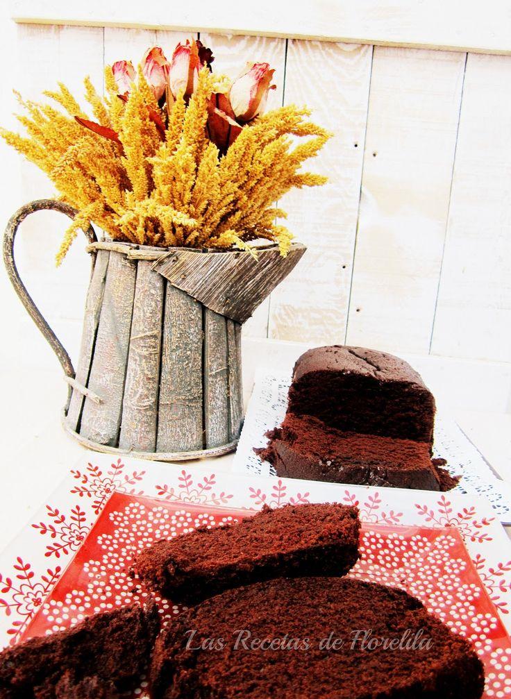Florelila, recetas y aficiones.: Bizcocho de Chocolate en Panificadora.