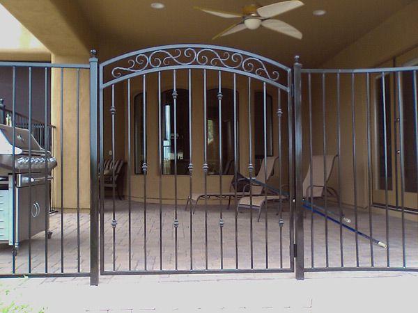 Ornamental Iron Gates Decorative Wrought Iron Gates From