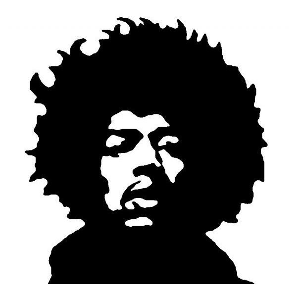 Jimi Hendrix 3 Liked On Polyvore Featuring Music My