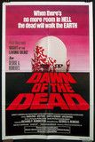 Dawn of the Dead, US one-sheet, red title style, 1978.