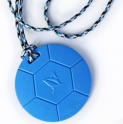 NEW reason to LOVE our Soccer Ball #ChewPendants  :) ♥Choose your style of 24″ Breakaway Paracord Lanyards or 20″ Undyed organic cotton! www.kidcompanions.com