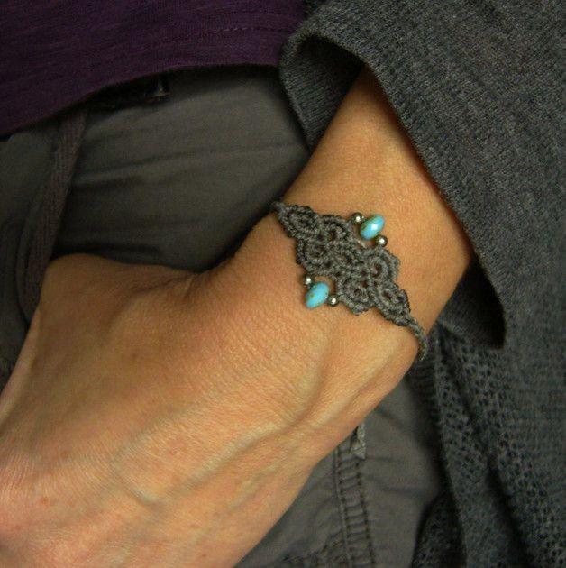 Armbänder - * Armbändchen Macramée * - ein Designerstück von crochet bei DaWanda