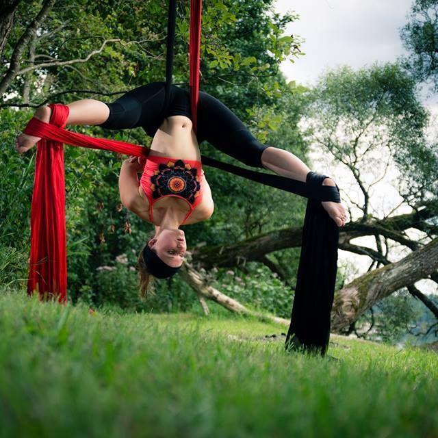 #upsidedown #arialyoga #passion #secondyou