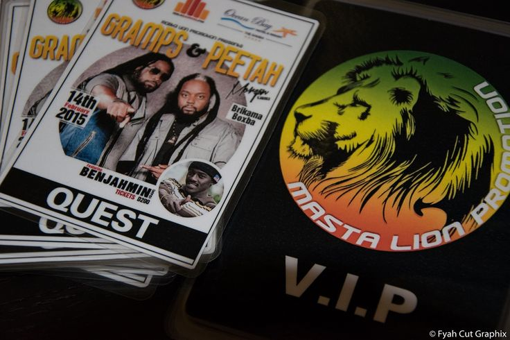 VIP cards - Backstage Passes - Laminated Cards