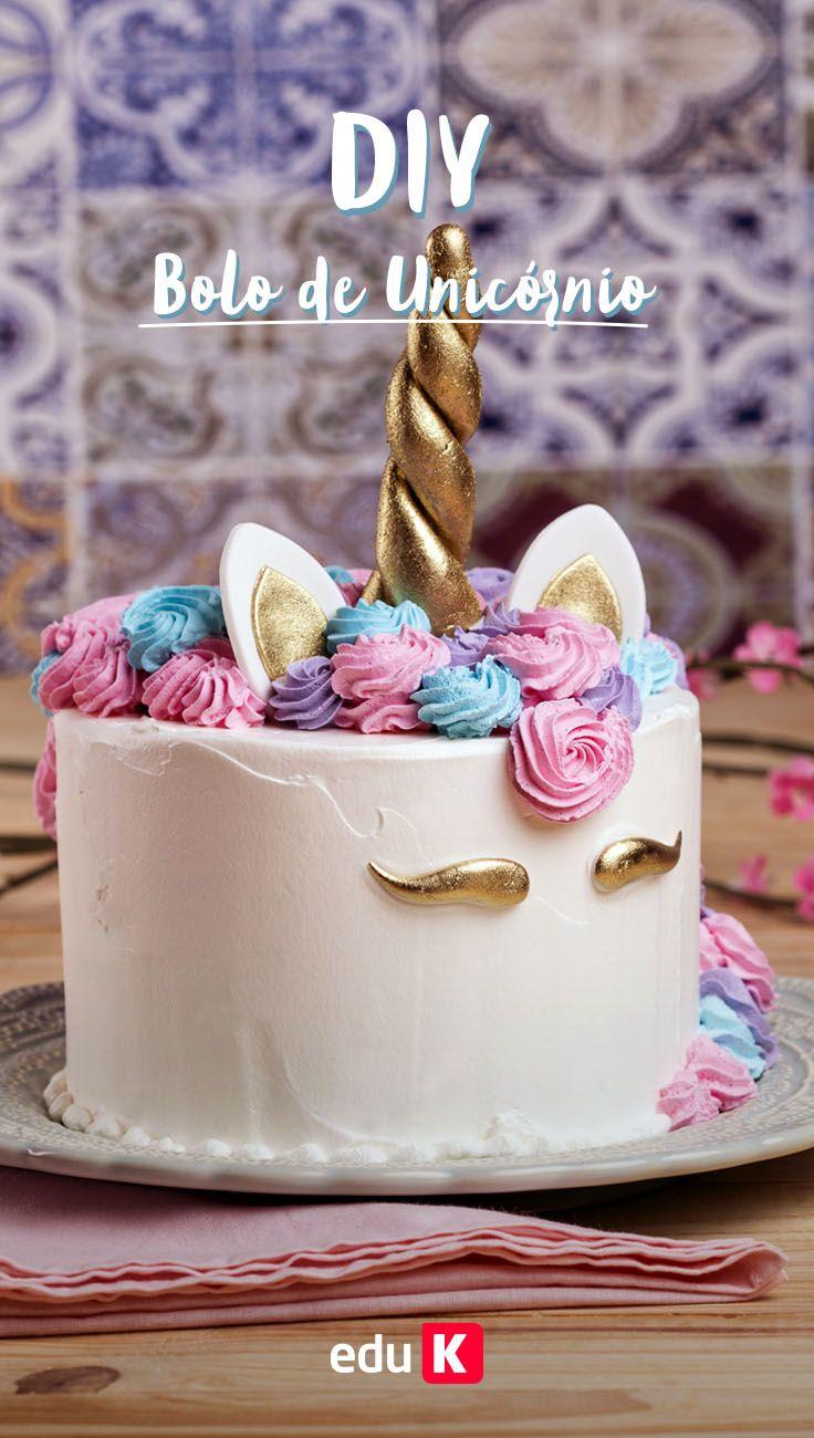 Aprenda a fazer esse bolo de unicórnio e se diferencia no seu negócio de confeitaria :)