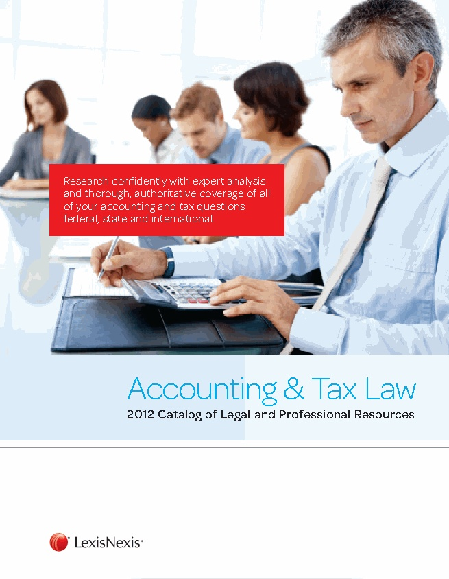 Tax law and accounting paper