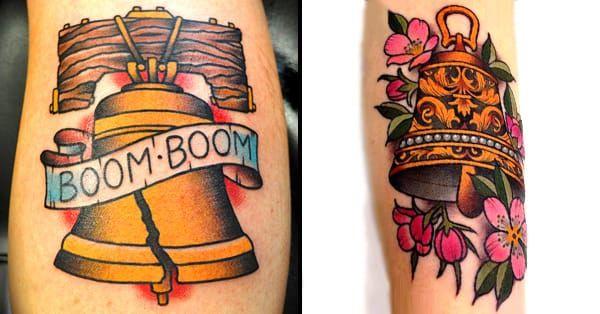 11 Fantastic Bell Tattoos