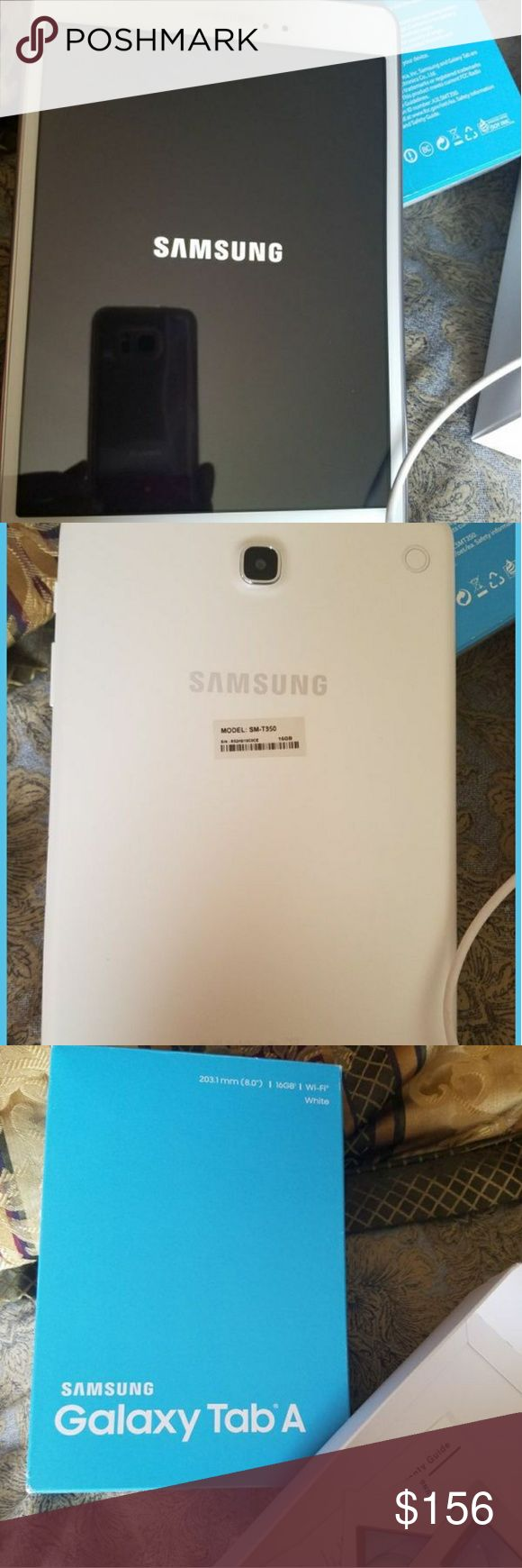 """Samsung tab A """"8 16gb like new only used one time samsung Other"""