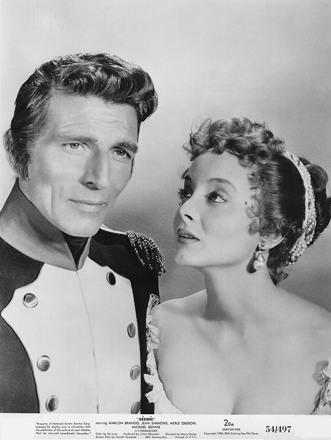 Michael Rennie, Carolyn Jones - Desirée (1954)