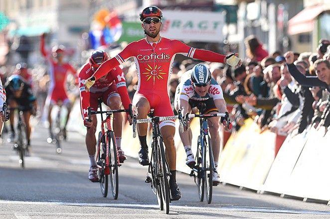 Nacer Bouhanni takes stage 4 at Paris-Nice