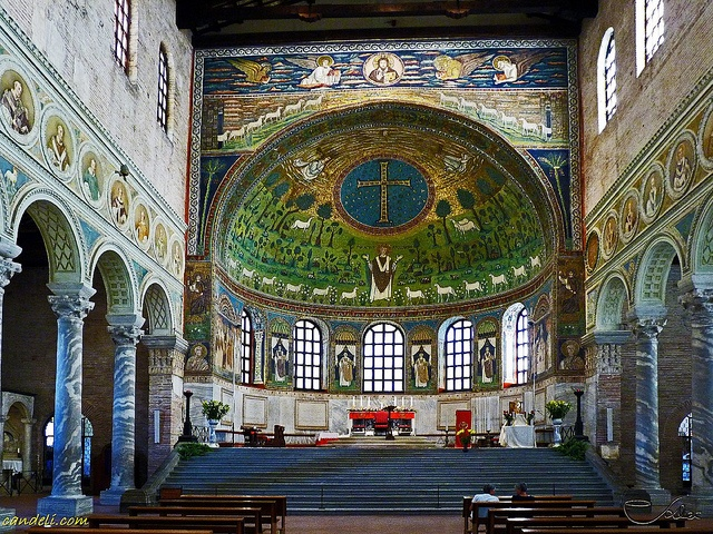 Sant 39 apollinare in classe ravenna ravenna italy and for Architecture byzantine