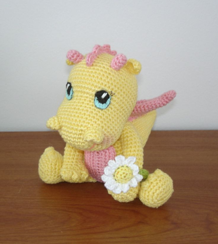 64 best crochet only free, dragon and dino images on Pinterest - kleine geschenke aus der k amp uuml che