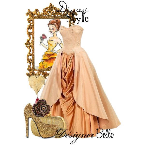 Belle - Beauty & The Beast by missm26 on Polyvore