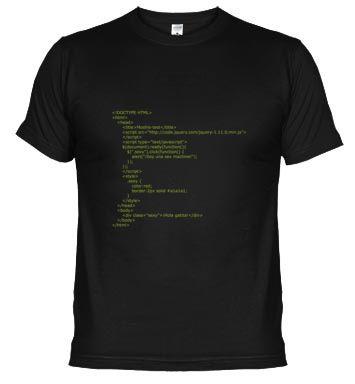 La camiseta idea para programadores y desarrolladores web  http://www.latostadora.com/moshis/dibujos/322142  #web #webdeveloper #html #php #jquery #code #código #programacion #programador #geek #informatico #ordenador #friki