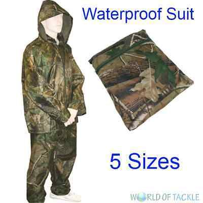 #Fishing rain suit waterproof jacket trouser set #hunting #rainsuit clothing ,  View more on the LINK: http://www.zeppy.io/product/gb/2/271321609003/