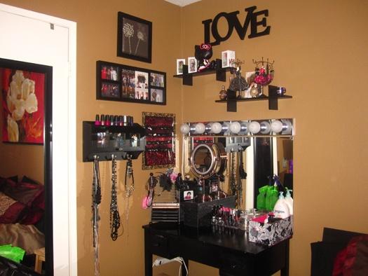 My Makeup Vanity Area Diy Vanity Lights Under 100
