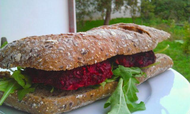 Beet burgery - karbanátky z červené řepy | Ze zahrady do kuchyně
