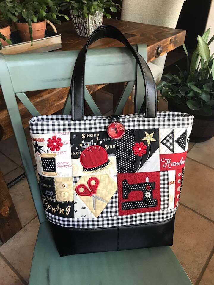 Sewing Tote Bag 4×4 5×5 6×6