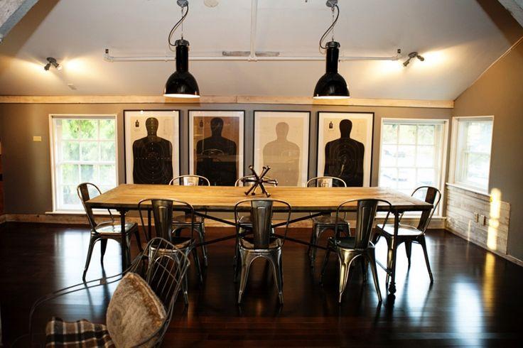 Framed Shooting Range Targets: Dining Rooms, Boards Rooms, Meeting Rooms, Rooms Wall, Frames Shooting, Graphics Projects, Shooting Range, Range Target, Man Caves