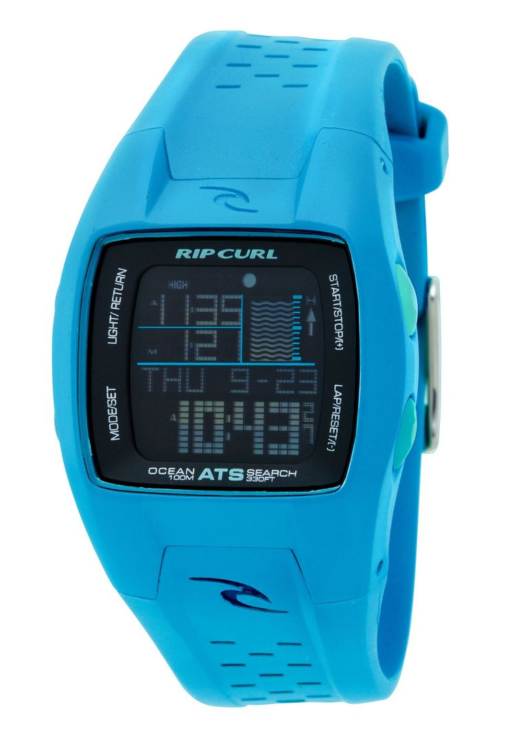 Blue Rip Curl Women's Watch!! Surf watch...yes please!!