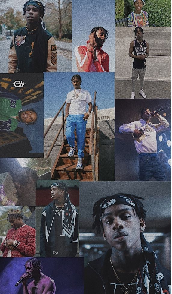 Polo G And Lil Tjay Wallpaper Collage By Dimyana Teferi Celebrity Wallpapers Polo Rappers