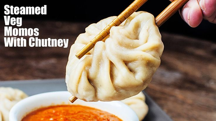 Veg Momos | Vegetable Dim Sum Recipe | Chinese Veg Momos | Momos Chutney