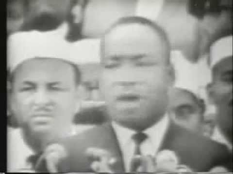 "Looking for something to incorporate into your roadschooling today? Here is a video of Dr. King's speech ""I Have a Dream"""
