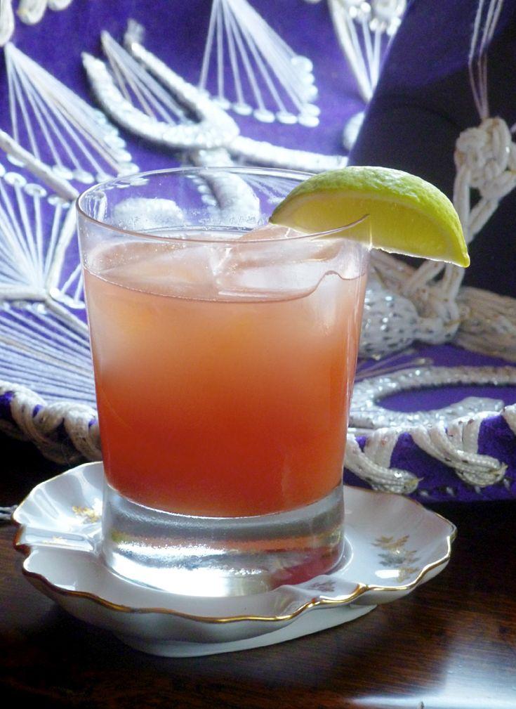 ... Red Grapefruit Juice 2 dashes Bittercube Cherry Bark Vanilla Bitters