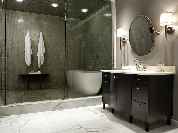 modern bathrooms   Modern Bathrooms 2013 From HGTV