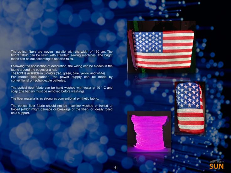 luminous panels : glowing fabrics