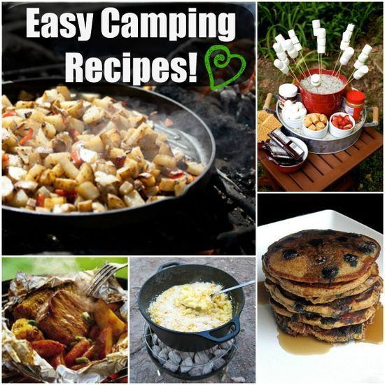 Easy Delicious Camping Food Ideas: 17 Best Images About CAMPING On Pinterest