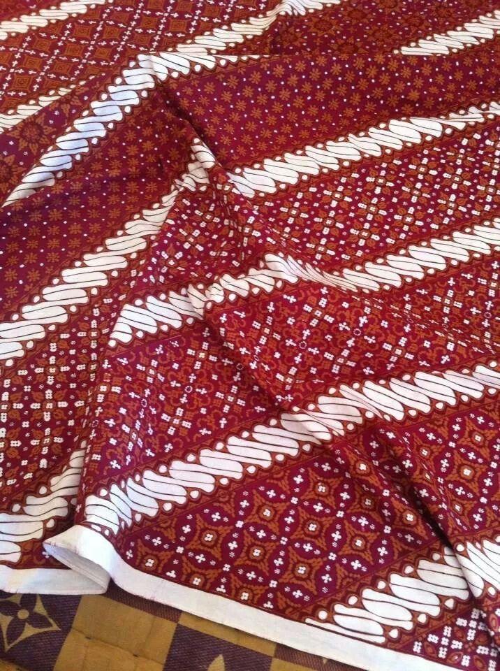 Batik Nitik Seling Parang