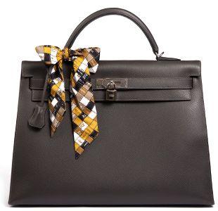Hermès Kelly 40 Grey Year X