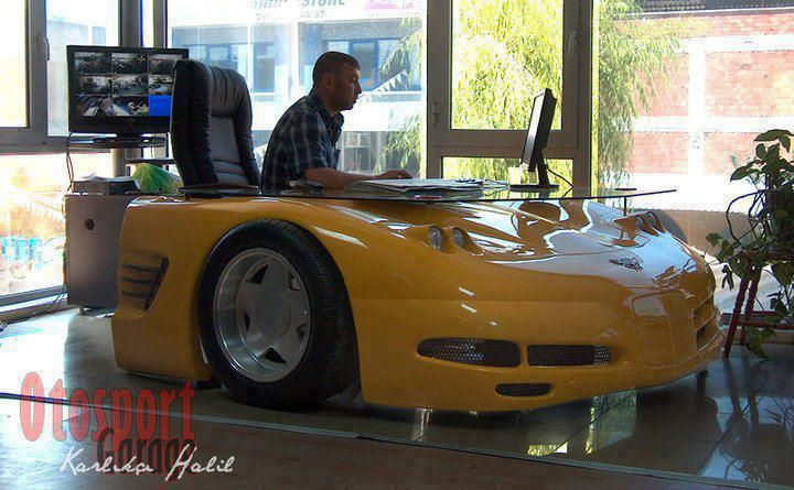 corvette office desk :d | all things geek | pinterest | office