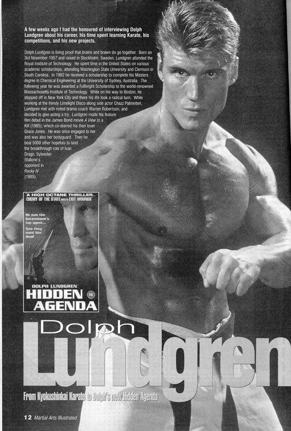 Dolph Lundgren...HAWT as HELL!!!