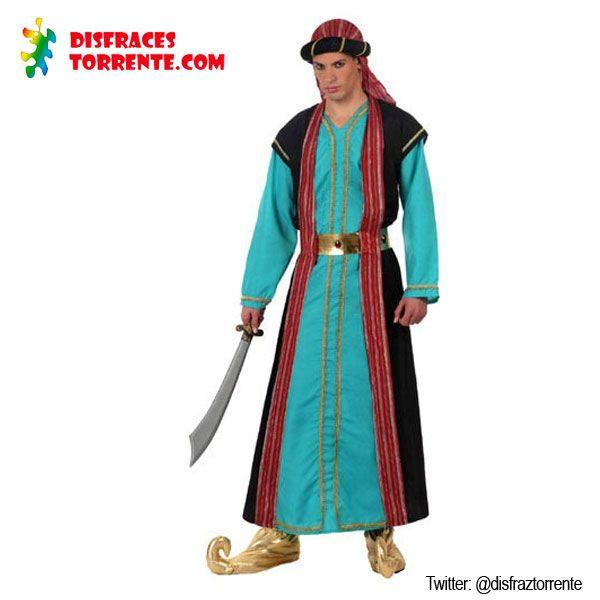 Disfraz de jeque Árabe.
