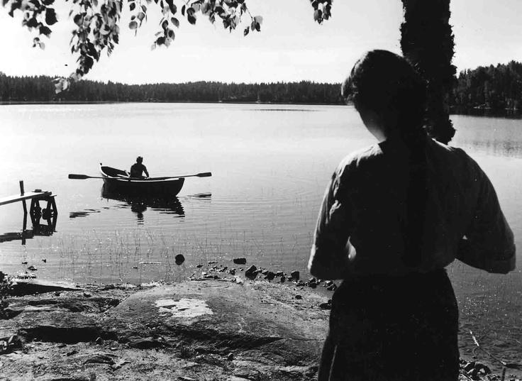 Elokuvantekoa Salmijärvellä