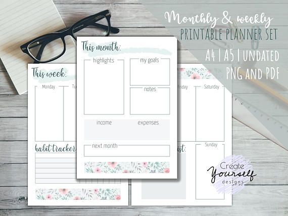 Check out this item in my Etsy shop https://www.etsy.com/listing/546133420/printable-planner-printable-bullet