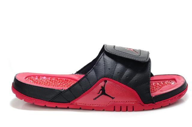 https://www.hijordan.com/air-jordan-12-black-red-sandals-p-601.html Only$73.96 AIR #JORDAN 12 BLACK RED SANDALS Free Shipping!