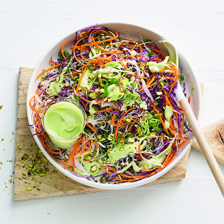 Try our recipe for Crunchy Noodle Salad.