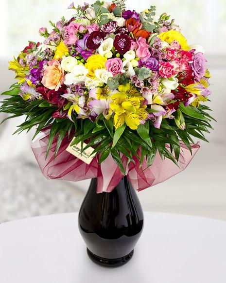 Buchet de primavara spectaculos!  Specatacular spring bouquet!