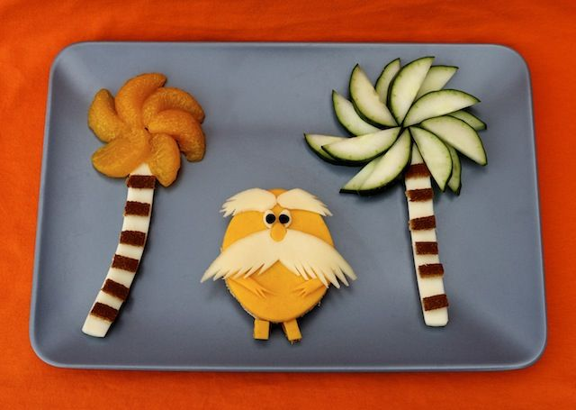 """""""Cute Food For Kids"""" ?: Dr. Seuss' The Lorax Inspired Food Ideas"""