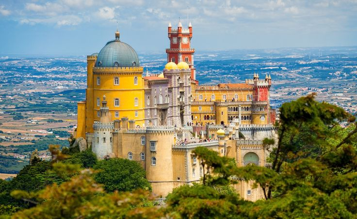 Pena National Palace is a Romanticist palace in São Pedro de Penaferrim, in the municipality of Sintra, Portugal.