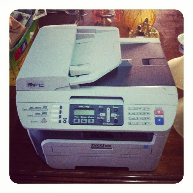 For Sale Printer Brother Mfc 7450 4 In 1 Print Fax Scanner Copy Price 15 Bd Tel 33770050 Office Phone Brother Mfc Landline Phone